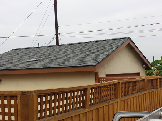 Wood Shake Roof Replaced With Asphalt Shingles In El Cajon