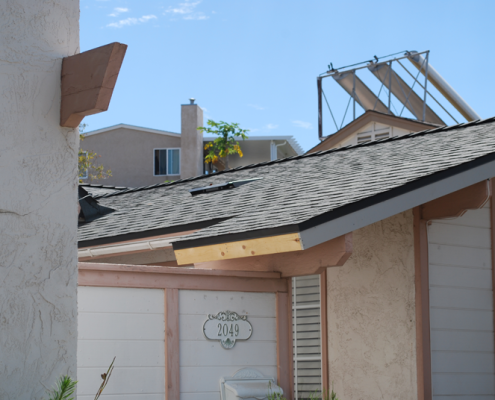 San Diego asphalt shingle roof installation portfolio