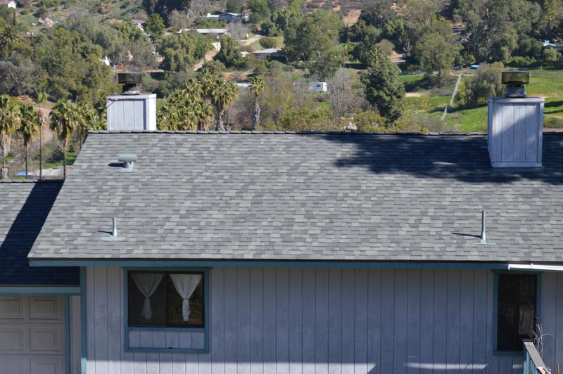 Asphalt Roofing Shingle Installation Audry Way El Cajon