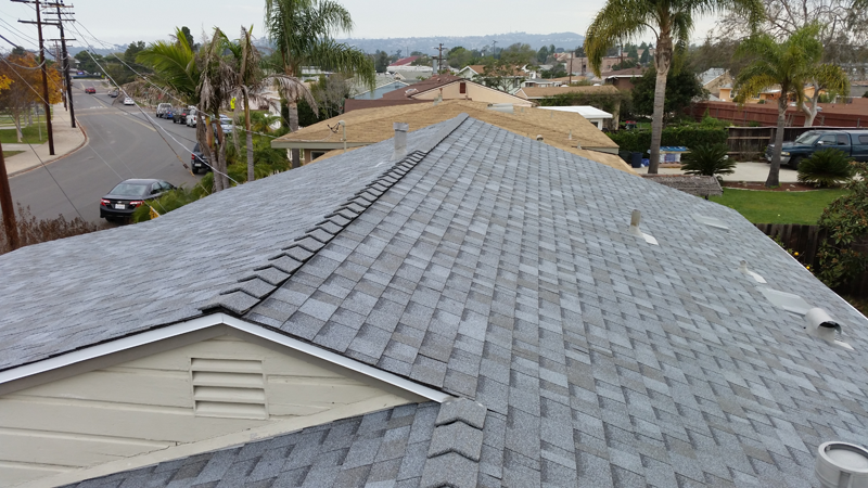 Asphalt Roof Shingle Installation In Clairemont 92117