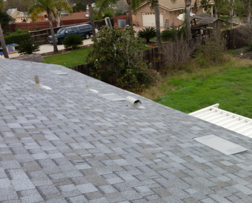 50 Year asphalt shingles roof installation in Clairemont, San Diego, 92117