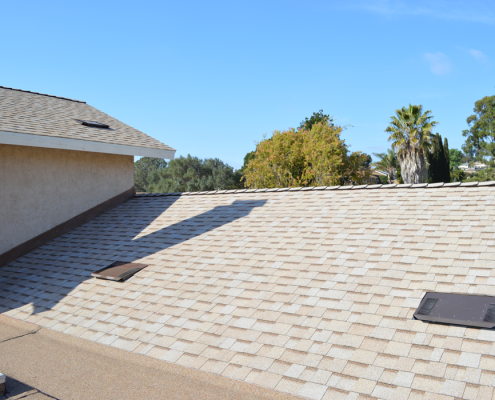 New shingle roof with Lifetime warranty in Bay Park, 92110-6