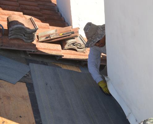 Rancho Penasquitos roof tile repair