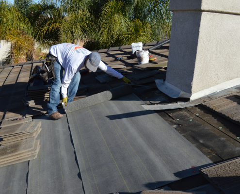 roof tile repair iin Scripps Ranch