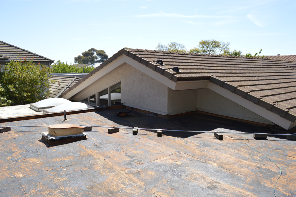 ca flet roof using torch down roofing1