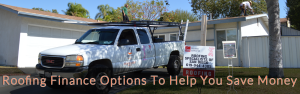 Roofing financing options for San Diego