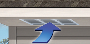 San Diego Roofing ventilation with soffit vents