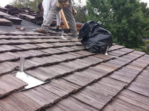 Boral tile roof project in Del Mar, CA