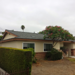 Asphalt shingle roof installation in El Cajon, CA, 92115