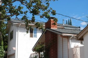 Asphalt roofing and energy efficient ventilation in San Diego, 92123