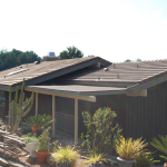 Concrete tile roofing with energy efficient roof ventilation