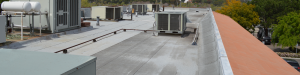 Commercial roof maintenance in San Diego