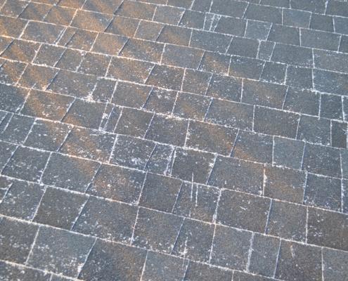 Asphalt roof shingle installation in Pacific Beach, San Diego, 92109