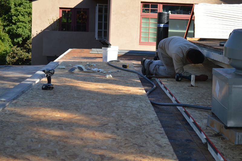 Energy Efficient Flat Cool Roof Installation In San Diego