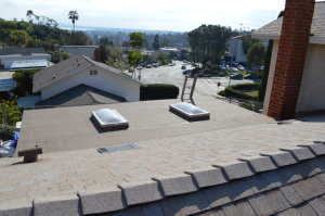 New shingle roof with Lifetime warranty in Bay Park, 92110-2