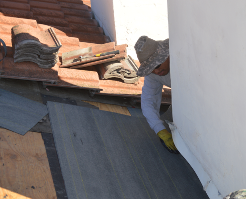 Rancho Penasquitos roof tile repair