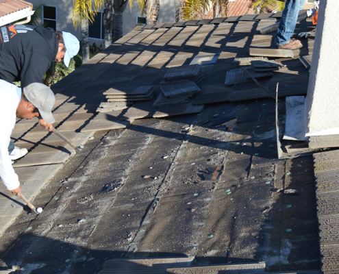 Scripps Ranch tile roof repairs-3