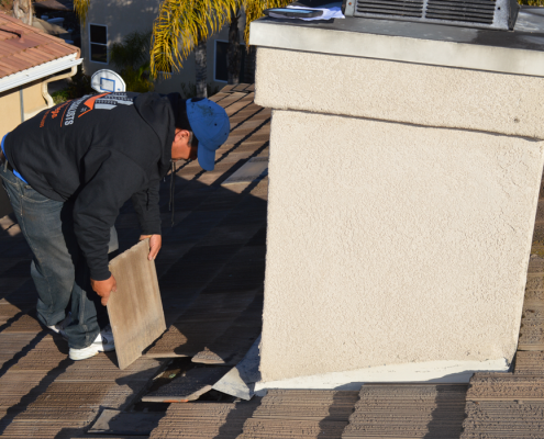 Scripps Ranch tile roof repairs