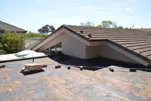 La Jolla, CA flet roof installation using torch down roofing-1