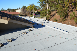 La Jolla, CA flet roof installation using torch down roofing-7